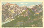 Click here to enlarge image and see more about item p22284: The Lakes in the Clouds, Banff National Park
