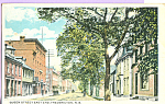 Click here to enlarge image and see more about item p22286: Queen Street East End Fredericton New Brunswick Canada p22286