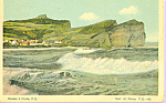 Surf at Perce, Quebec, Canada