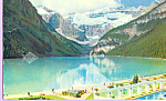 Click here to enlarge image and see more about item p22290: Lake Louise Banff Alberta Canada p22290