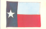 Texas State Flag Postcard p22314