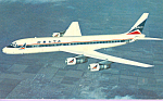 Click here to enlarge image and see more about item p22328: Delta Airlines DC-8 Fanjet Airline Issue p22328