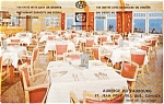 Click here to enlarge image and see more about item p2235: St Jean Port Joli Restaurant Canada Postcard p2235