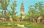 Click here to enlarge image and see more about item p22375: Alcazar Gardens Balboa Park San Diego California p22375