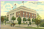 Click here to enlarge image and see more about item p22391: Post Office and Custom House Tampa Florida p22391