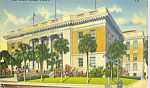 Click here to enlarge image and see more about item p22392: Post Office  Tampa Florida p22392