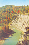 Letchworth Canyon Letchworth State Park New York p22419