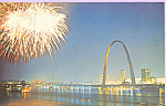 Click here to enlarge image and see more about item p22422: St Louis MO Gateway Arch p22422