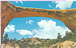 Click here to enlarge image and see more about item p22427: Owachomo Natural Bridge Natural Bridges National Monument UT p22427