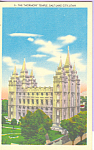 Mormon Temple, Salt Lake City, Utah