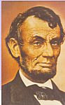Click here to enlarge image and see more about item p22444: Abraham Lincoln Postcard p22444