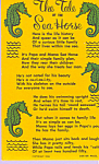 Click here to enlarge image and see more about item p22445: Legend Of The Sea Horse