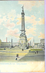 Click here to enlarge image and see more about item p22447: Soldiers Monument Indianapolis IN Postcard p22447 Tuck s