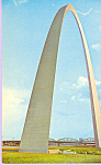 Click here to enlarge image and see more about item p22448: St Louis MO  Gateway Arch p22448