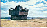 Click here to enlarge image and see more about item p22485: Block House ,Fort Lincoln State Park,North Dakota