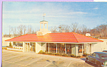 Click here to enlarge image and see more about item p22515: Howard Johnson s Landmark for Hungry Americans Postcard p22515