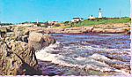 Click here to enlarge image and see more about item p22536: Two Lights, Cape Elizabeth, Maine