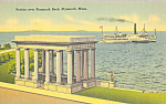 Portico Over Plymouth Rock Plymouth Massachusetts p22543