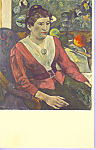 Marie Henry by Paul Gauguin Postcard p22604