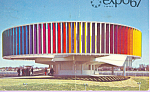 Click here to enlarge image and see more about item p22622: The Kaleidoscope Pavilion Expo 67 Postcard p22622