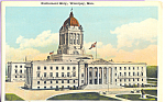 Click here to enlarge image and see more about item p22623: Parliament Building Winnipeg Manitoba Canada p22623