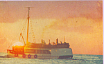 Click here to enlarge image and see more about item p22647: Golden Sunset at Caribbean Sea Cozumel Mexico p22647