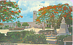 Click here to enlarge image and see more about item p22651: The Main Square Cozumel,Quintana Roo Mexico