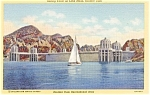 Click here to enlarge image and see more about item p2269: Boulder Dam Recreational Area Postcard