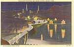 Click here to enlarge image and see more about item p2270: Boulder Dam Roadway and Towers Postcard