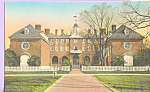 Wren Building,College Of William And Mary,Virginia