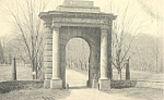 Click here to enlarge image and see more about item p22725: McClellan Gate,Arlington National Cemetery,Virginia