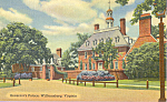 Governor's Palace,Williamsburg,Virginia