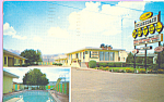 Click here to enlarge image and see more about item p22782: Stagecoach Motel, Colorado Springs Colorado