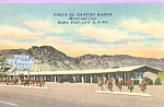 Click here to enlarge image and see more about item p22788: Pike s El Rancho Baker Motel BakerCalifornia p22788