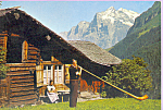 Click here to enlarge image and see more about item p22822: Alphornblaser Bernertracht Switzerkand   p22822