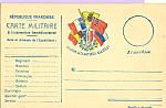 Click here to enlarge image and see more about item p22832: Carte Militaire Republique Francaise p22832