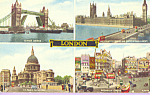 Click here to enlarge image and see more about item p22839: Small Views of London England p22839