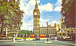Click here to enlarge image and see more about item p22844: Big Ben and Parliament Square London England p22844