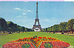 Click here to enlarge image and see more about item p22845: Eiffel Tower Paris France p22845
