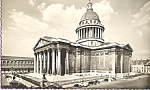 Le Pantheon Paris France RPPC p22846