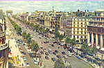 Click here to enlarge image and see more about item p22848: Champs Elysees Paris France p22848
