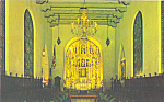 Click here to enlarge image and see more about item p22866: Gold Altar,St Francis Chapel Riverside California