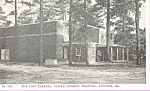Click here to enlarge image and see more about item p22876: Oliver General Hospital Augusta GA Post Theatre p22876