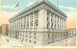 Click here to enlarge image and see more about item p22893: Custom House, Baltimore, Maryland