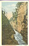 Click here to enlarge image and see more about item p22915: View From Mecca, Ausable Chasm, New York