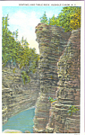 Click here to enlarge image and see more about item p22928: Sentinental, Ausable Chasm, New York
