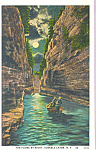 Click here to enlarge image and see more about item p22932: The Flume, Ausable Chasm, New York