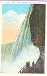 Cave of Winds Niagara Falls NY Postcard p22939