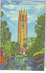 Click here to enlarge image and see more about item p22946: Singing Tower From the North  Lake Wales  Florida p22946