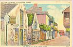Old Charlotte Street, St Augustine, Florida